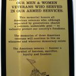 Engraved Brass Remembrance Plaque